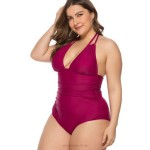 Fat Swimsuits For Big Girls Plus Size Women One Piece Swimwear Swimsuits