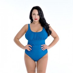 Plus Size Swimsuits For Big Girls Pure Colour One Piece Swimwear Women Swimsuits