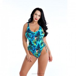 One Piece Printing Swimsuits For Big Girls Plus Size Fat Swimwear Women Swimsuits