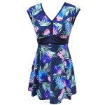 Women Swimwear Swimsuits For Big Girls Plus Size Dress One Piece Boxer Skinny Cover Belly Tankinis Women Swimsuits