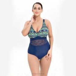Plus Size Swimwear Swimsuits For Big Girls Plus Size Printing One Piece Swimsuits Women