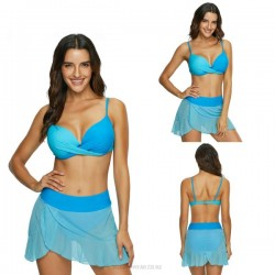 Sexy Tulle Two Piece Swimwear