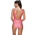 Classical Sexy Pink Red One Piece Swimwear