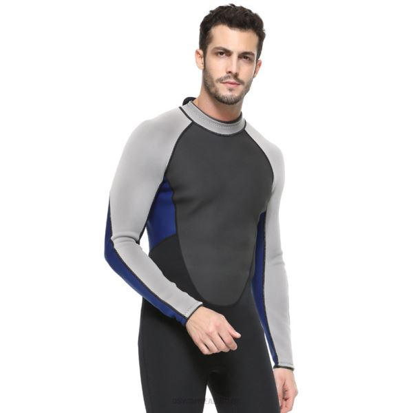 Man 3Mm Diving Suit One Piece Two Piece Thicken Prevention Of Jellyfish With Hat Surf Suit
