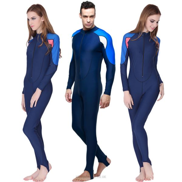 One Piece Swimwear Sun Protective Clothing Prevention Of Jellyfish Wetsuit Diving Suit Man Womens Equipment 715