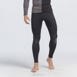 3Mm Cold Proof Diving Pants Two Piece Warm Sun Protective Man Long Sleeves Long Pants Pants Beach Swimming Trunks