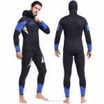 5Mm Rubber Diving Suit Warm Long Sleeves One Piece Two Piece Swimwear Thicken 1045