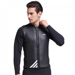 Winter Swimming Diving Suit Man Two Piece Long Sleeves Warm Surfing