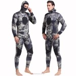 5Mm Rubber Diving Suit Warm Winter Swimming Long Sleeves One Piece Swimwear Two Piece Thicken Jellyfish Suit