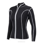 2Mm Rubber Diving Suit Womens Warm Winter Swimming Long Sleeves Two Piece Swimwear Thicken Womens Jellyfish Suit Surf Suit