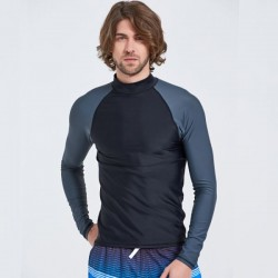 Long Sleeves Swimwear Man Snorkeling Suit Beach Quick Drying Surf Suit Diving Suit Man Two Piece Sun Protective Clothing