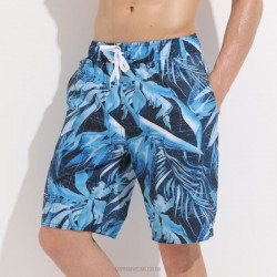 Couples Beach Pants Man Quick Drying Plus Size Loose Shorts Seaside Holiday Swimming Trunks
